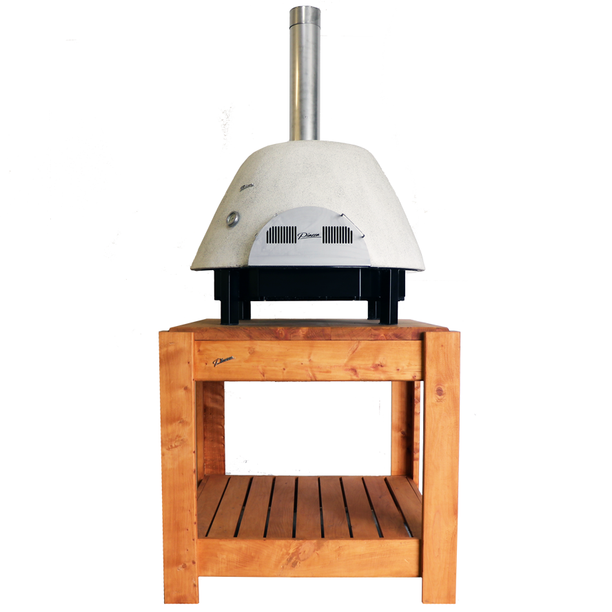 free-standing-tasman-pizza-oven-ontimber-table